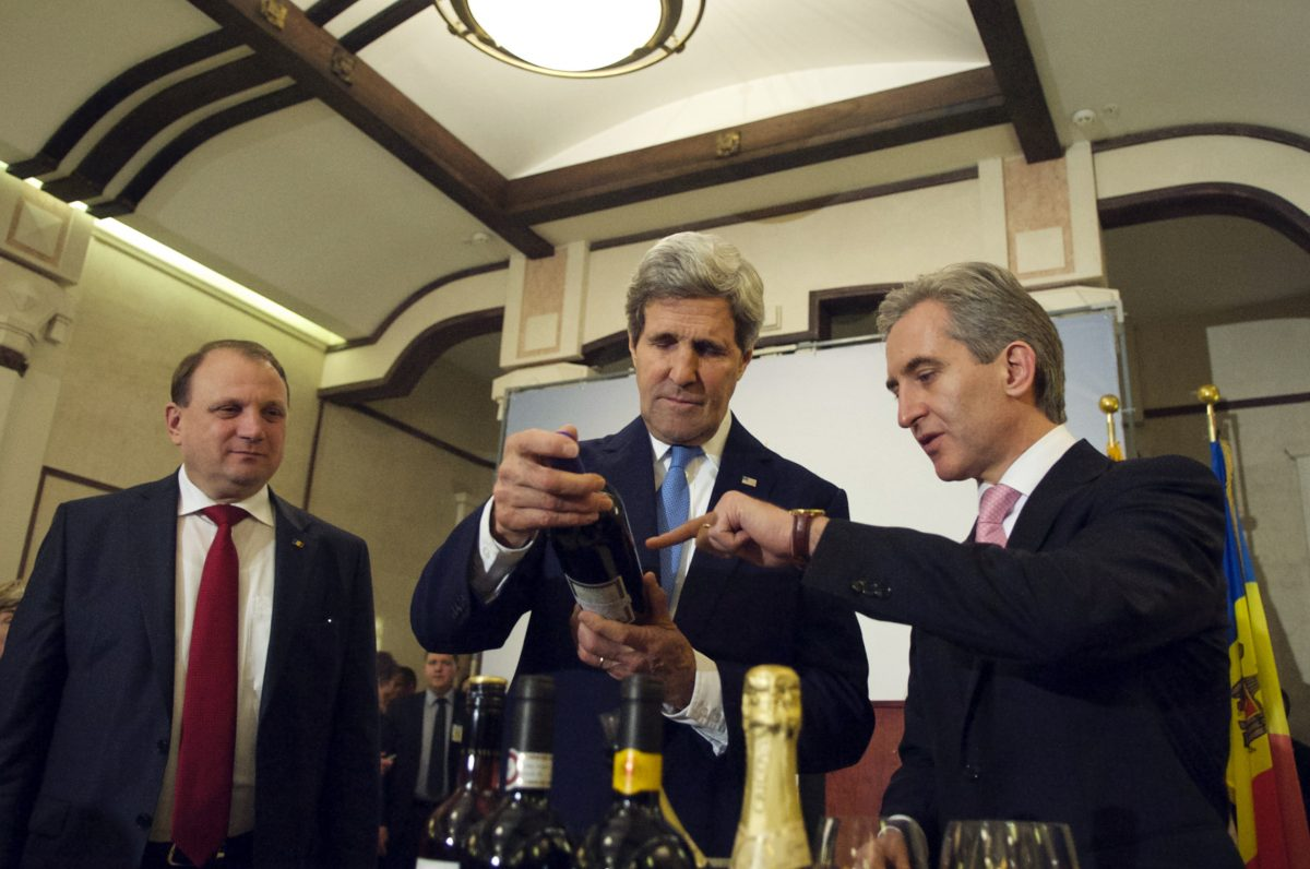 John Kerry Moldovan Wine